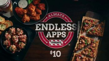 TGI Friday's Endless Apps TV Spot, 'Endless Apps Forever' - Thumbnail 9