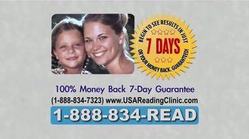 USA Reading Clinic TV Spot, 'Revolutionary Reading System' - Thumbnail 7