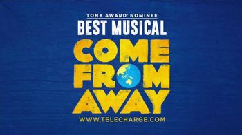 Telecharge.com TV Spot, 'Come From Away' - Thumbnail 10