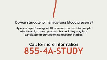 Synexus TV Spot, 'Blood Pressure Screening' - Thumbnail 5