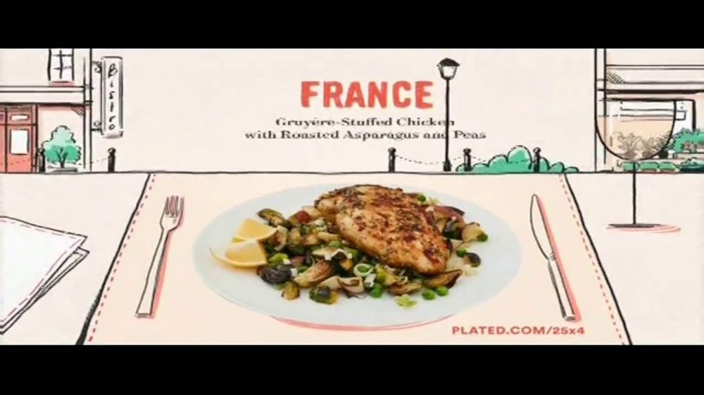 Plated TV Commercial, 'Travel the World: 25 Percent Off'
