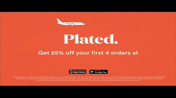 Plated TV Spot, 'Travel the World: 25 Percent Off' - Thumbnail 10