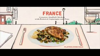 Plated TV Spot, 'Travel the World: 25 Percent Off'
