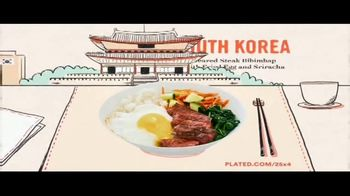 Plated TV Spot, 'Travel the World: 25 Percent Off' - Thumbnail 4