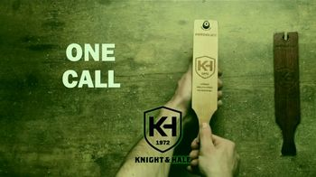 Knight & Hale Switchblade 3-in-1 Turkey Box Call TV Spot, 'Some Birds' - Thumbnail 4