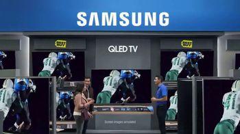 Best Buy Samsung QLED TV TV Spot, 'Mom's Game' - Thumbnail 4