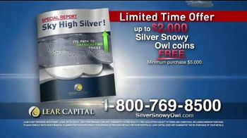 Lear Capital TV Spot, 'Silver Snowy Owl Coins' - Thumbnail 9