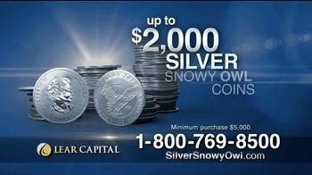 Lear Capital TV Spot, 'Silver Snowy Owl Coins' - Thumbnail 7
