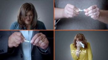 Zicam Cold Remedy Nasal Swabs TV Spot, 'With a Snap' - Thumbnail 3