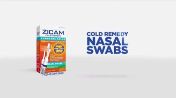 Zicam Cold Remedy Nasal Swabs TV Spot, 'With a Snap' - Thumbnail 6