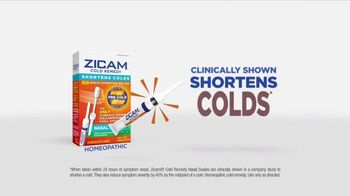 Zicam Cold Remedy Nasal Swabs TV Spot, 'With a Snap' - Thumbnail 7