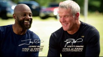 Copper Fit Compression Gloves TV Spot, 'Relief' Ft. Jerry Rice, Brett Favre