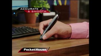 Pocket Mouse TV Spot, 'Work on Any Surface' - Thumbnail 3