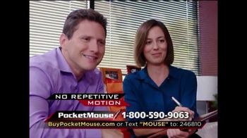 Pocket Mouse TV Spot, 'Work on Any Surface' - Thumbnail 8
