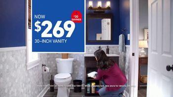 Lowe's Bath Event TV Spot, 'The Moment: Half Bath, Full Attention' - Thumbnail 10