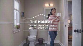 Lowe's Bath Event TV Spot, 'The Moment: Half Bath, Full Attention' - Thumbnail 6