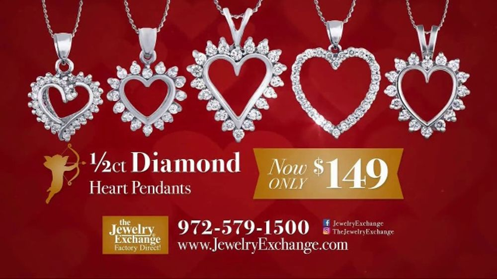 Jewelry Exchange Tv Commercial 2018 Be My Valentine