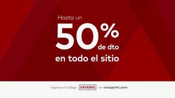 Vistaprint Ofertas de Media Temporada TV Spot, 'Todo el sitio' [Spanish] - Thumbnail 2