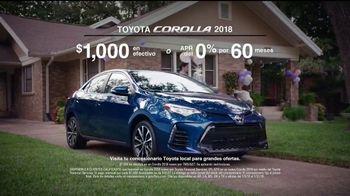2018 Toyota Corolla TV Spot, 'La lista' [Spanish] [T2] - Thumbnail 8