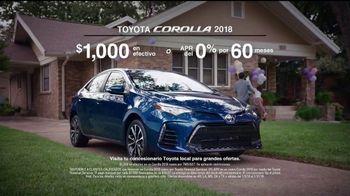 2018 Toyota Corolla TV Spot, 'La lista' [Spanish] [T2] - Thumbnail 9