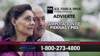 Ferrer, Poirot and Wansbrough TV Spot, 'Pacientes con diabetes' [Spanish] - Thumbnail 5