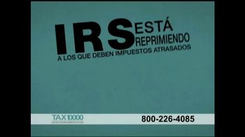 TAX10000 TV Spot, 'Alivio de deuda tributaria' [Spanish] - Thumbnail 1