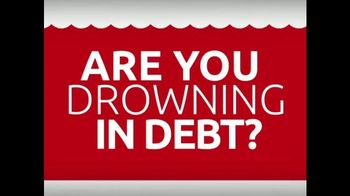 DebtRid Debt Free Program TV Spot, 'Drowning in Debt' - Thumbnail 1