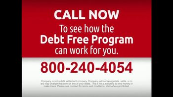 DebtRid Debt Free Program TV Spot, 'Drowning in Debt' - Thumbnail 10
