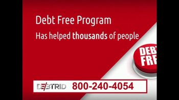 DebtRid Debt Free Program TV Spot, 'Drowning in Debt' - Thumbnail 4