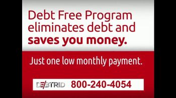 DebtRid Debt Free Program TV Spot, 'Drowning in Debt' - Thumbnail 7