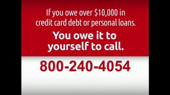 DebtRid Debt Free Program TV Spot, 'Drowning in Debt' - Thumbnail 8