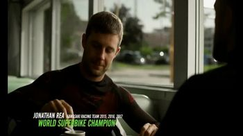 2018 Kawasaki Ninja 400 TV Spot, 'Friendly Competition' Feat. Jonathan Rea - Thumbnail 1