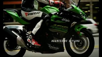 2018 Kawasaki Ninja 400 TV Spot, 'Friendly Competition' Feat. Jonathan Rea - Thumbnail 5