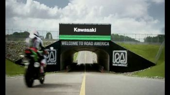 2018 Kawasaki Ninja 400 TV Spot, 'Friendly Competition' Feat. Jonathan Rea - Thumbnail 6