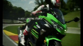 2018 Kawasaki Ninja 400 TV Spot, 'Friendly Competition' Feat. Jonathan Rea - Thumbnail 7