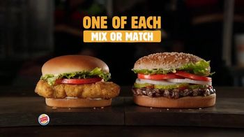 Burger King 2 for $6 TV Spot, 'Mix or Match: Sandwiches' - Thumbnail 7