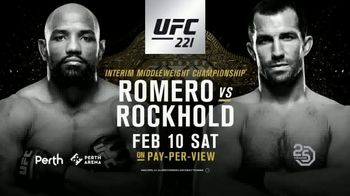UFC 221 TV Spot, 'Romero vs. Rockhold: Two of the Very Best' - Thumbnail 10
