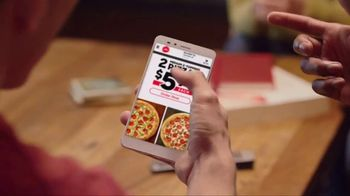 Pizza Hut $5.99 Medium Pairs Deal TV Spot, 'Yes and Yes' - Thumbnail 3