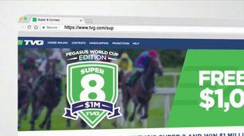 TVG Network Super 8 Contest TV Spot, 'Pegasus World Cup' - Thumbnail 3