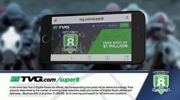 TVG Network Super 8 Contest TV Spot, 'Pegasus World Cup' - Thumbnail 6
