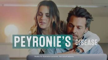 Endo Pharmaceuticals TV Spot, 'Peyronie's Disease'
