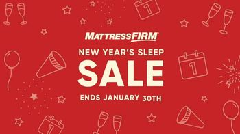 Mattress Firm New Year's Sleep Sale TV Spot, 'Cozy Up' - Thumbnail 4