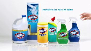 Clorox TV Spot, 'Cold and Flu Season' - Thumbnail 9