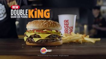 Burger King Double Quarter Pound King TV Spot, 'Rest in Flames' - Thumbnail 10