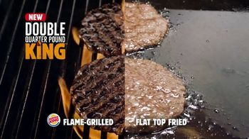 Burger King Double Quarter Pound King TV Spot, 'Rest in Flames' - Thumbnail 3