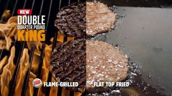 Burger King Double Quarter Pound King TV Spot, 'Rest in Flames' - Thumbnail 4