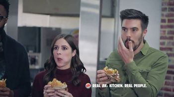 Burger King Double Quarter Pound King TV Spot, 'Rest in Flames' - Thumbnail 5
