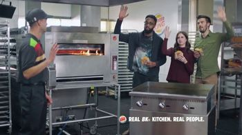 Burger King Double Quarter Pound King TV Spot, 'Rest in Flames' - Thumbnail 6