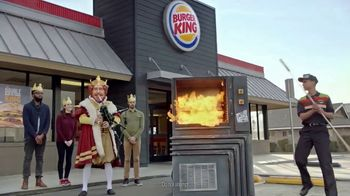 Burger King Double Quarter Pound King TV Spot, 'Rest in Flames' - Thumbnail 7