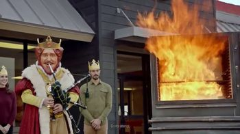 Burger King Double Quarter Pound King TV Spot, 'Rest in Flames' - Thumbnail 8